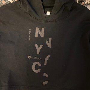 Lululemon All yours cropped hoodie special edition